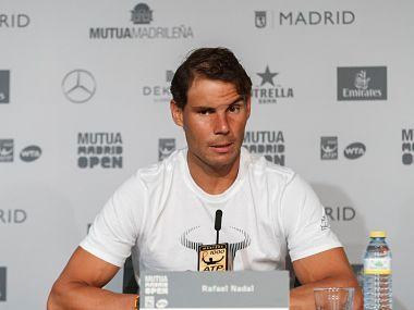 Rafael Nadal en conférence de Presse :