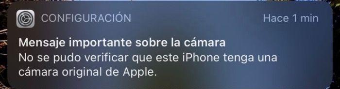 Apple bloquea cámaras del teléfono