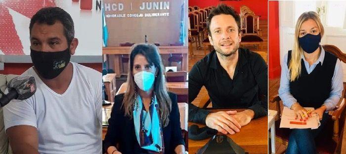 Mufarotto, Fiel, Llovet y Montanaro los posibles candidatos a ocupar bancas en el concejo 2021-2025