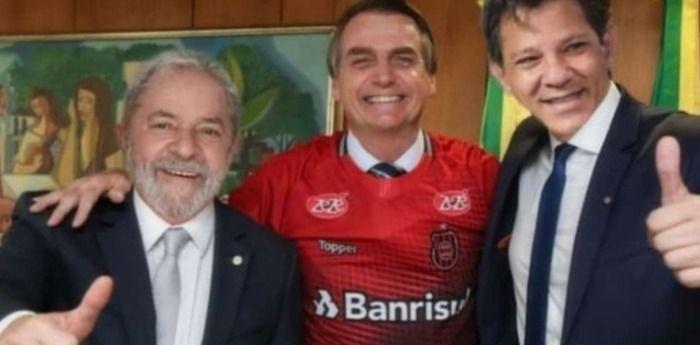 Bolsonaro e Lula fazem uma reunião e chegam a um acordo.