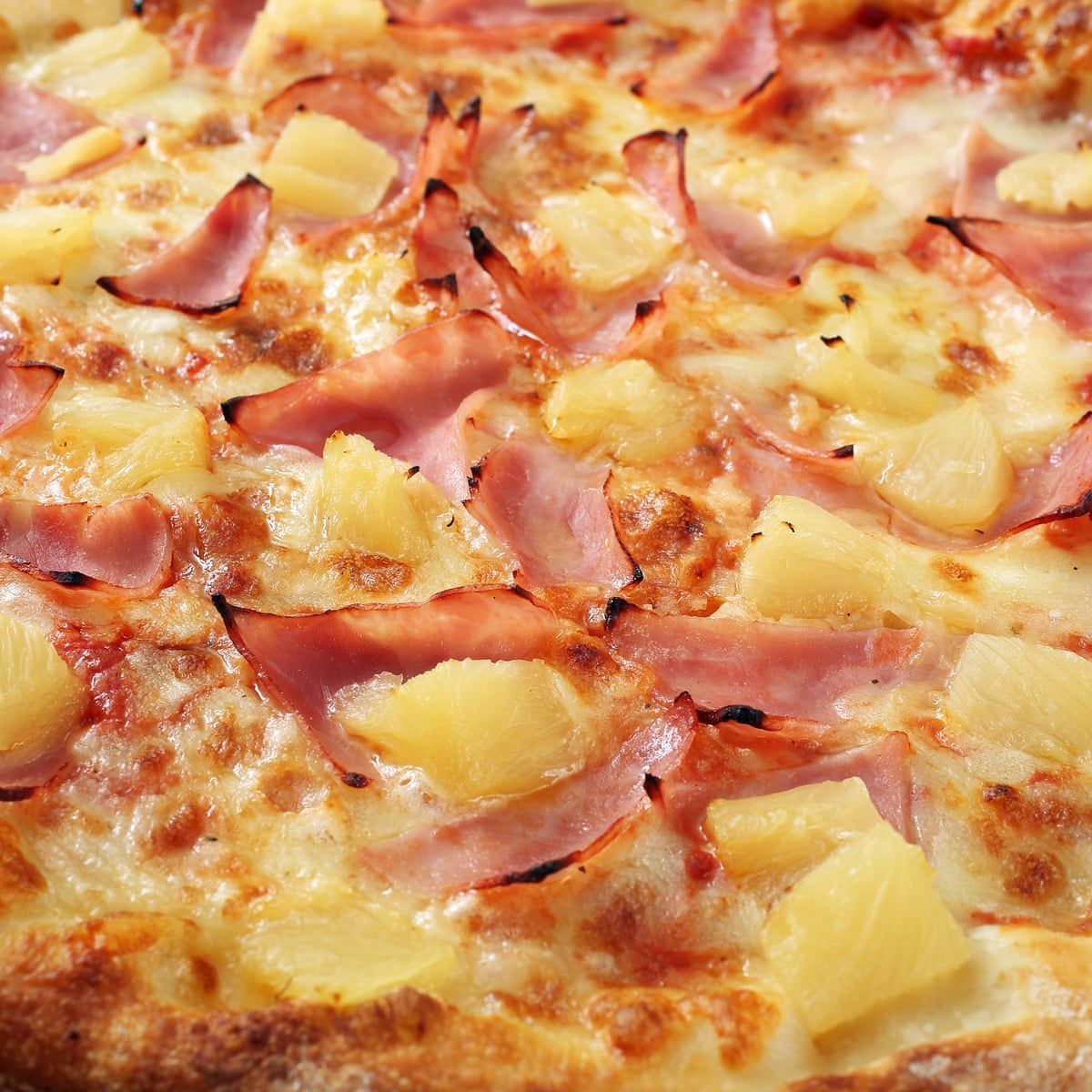 Pineapple pizza is 1