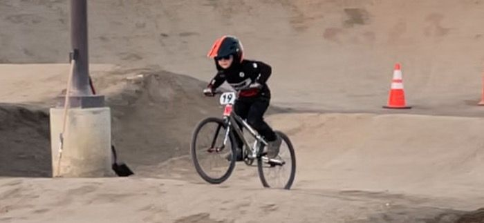 A new kind of clown emerges on local BMX track