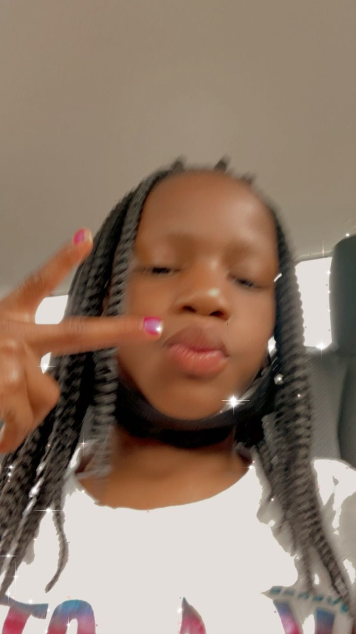This 8-year old girl Kyrionna Nevaeh Huggins as been kidnapped