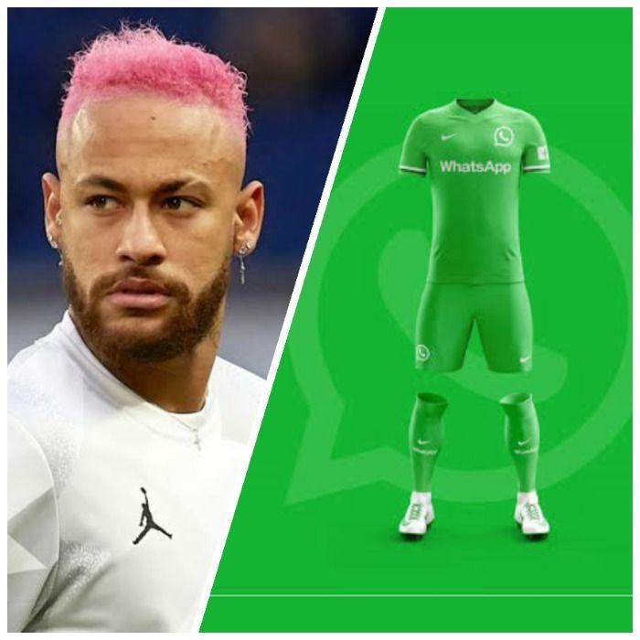 Neymar declara interesse em jogar pelo Whatsapp FC