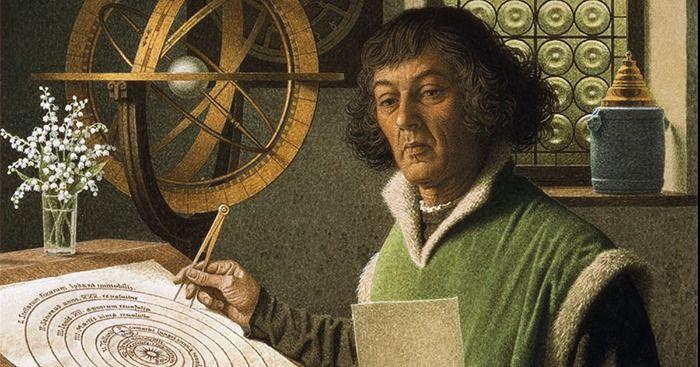 Nicolás Copérnico el revolucionario de la teoría Heliocéntrica