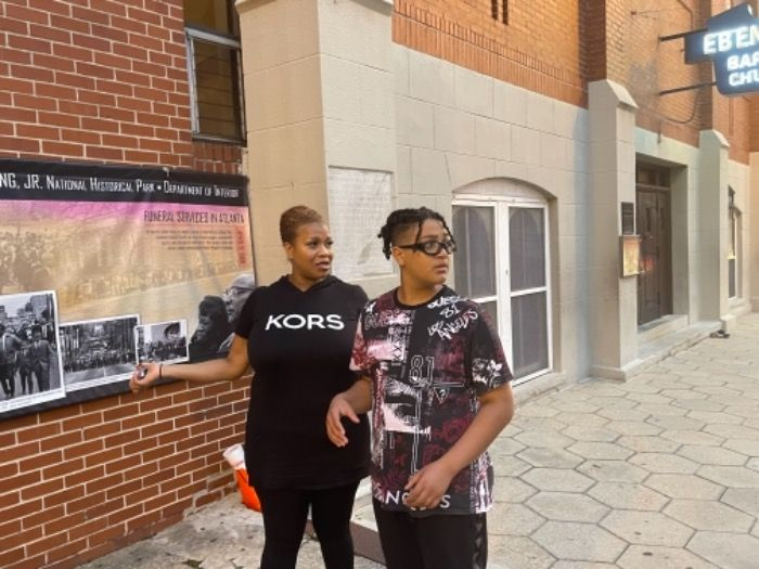 Lilbboy was caught in Atlanta for a video shoot for feature