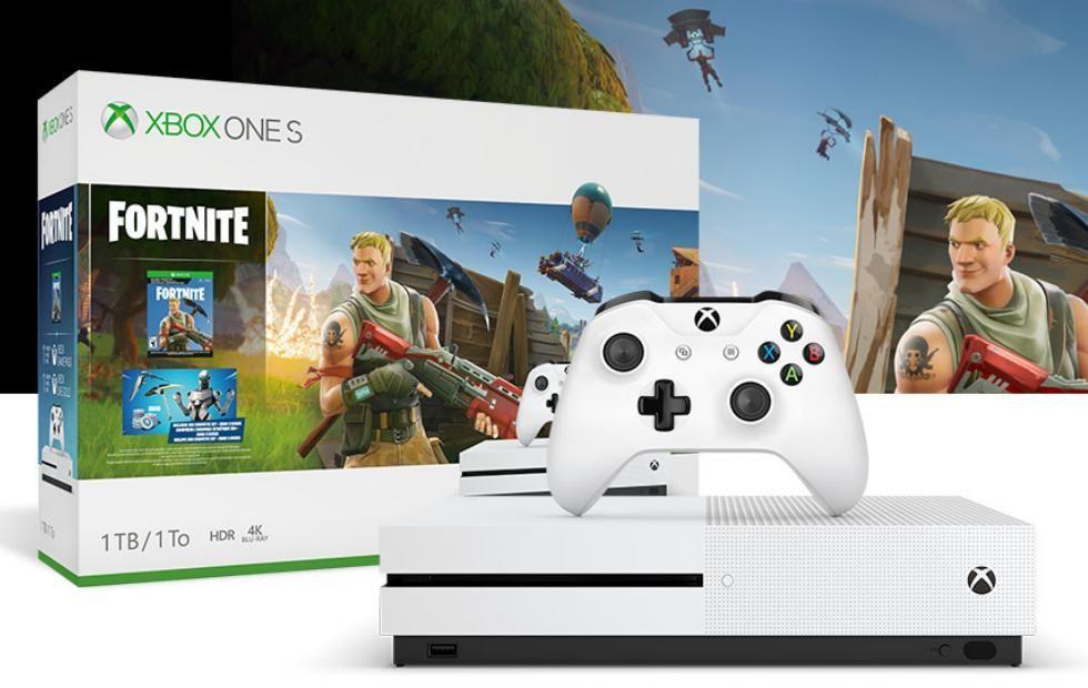 Microsoft giving away free Xbox 1s Fortnite edition