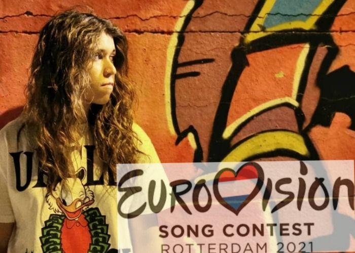 Carmen Labrador en Eurovision 2021