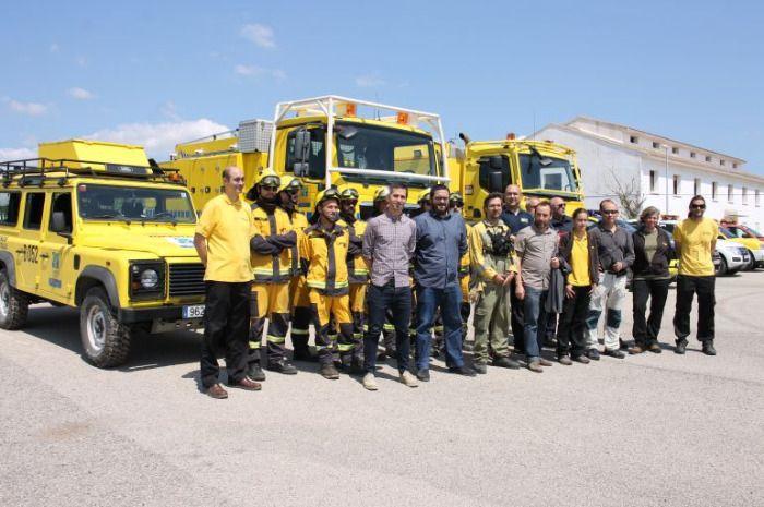 Servicio de Gestión Forestal Rescata a dos excursionistas