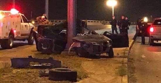 Fuerte accidente en carretera deja 3 heridos y un menor muerto.